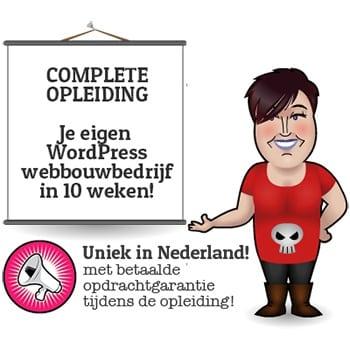 Start Je Wordpress Webbouwbedrijf in 10 Weken