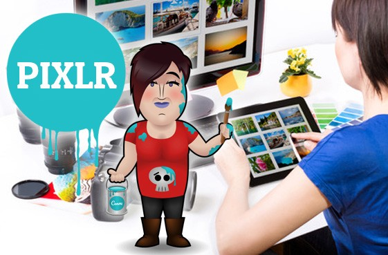 Pixlr fotobewerkingsprogramma