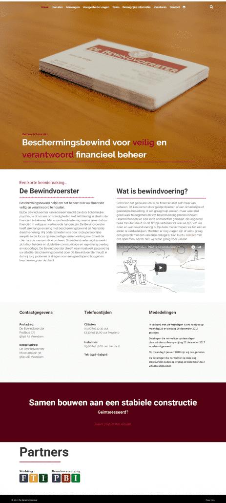DeBewindvoerster.nl