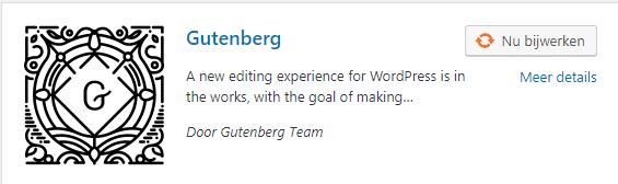 Gutenberg plugin