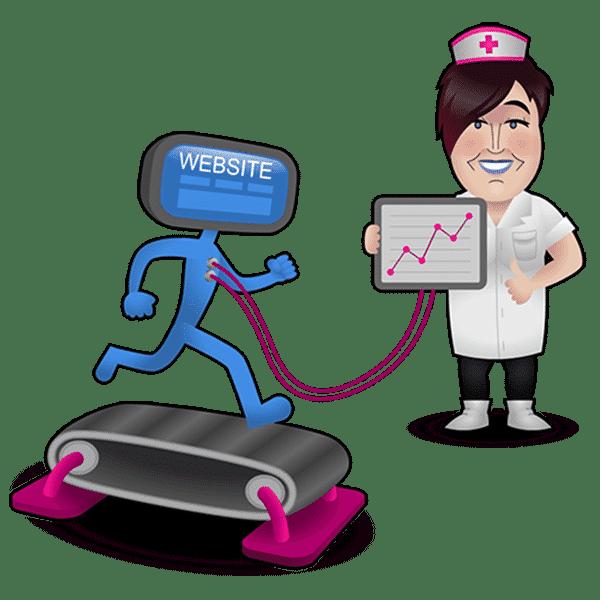 Verpleegster apparaat website