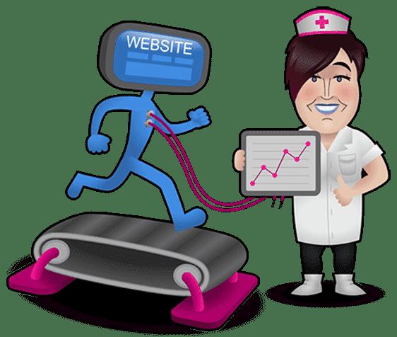 Weblish verpleegster