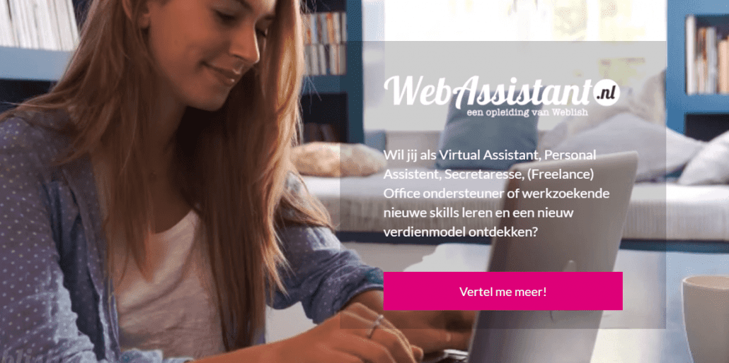 Call to action WebAssistant.nl