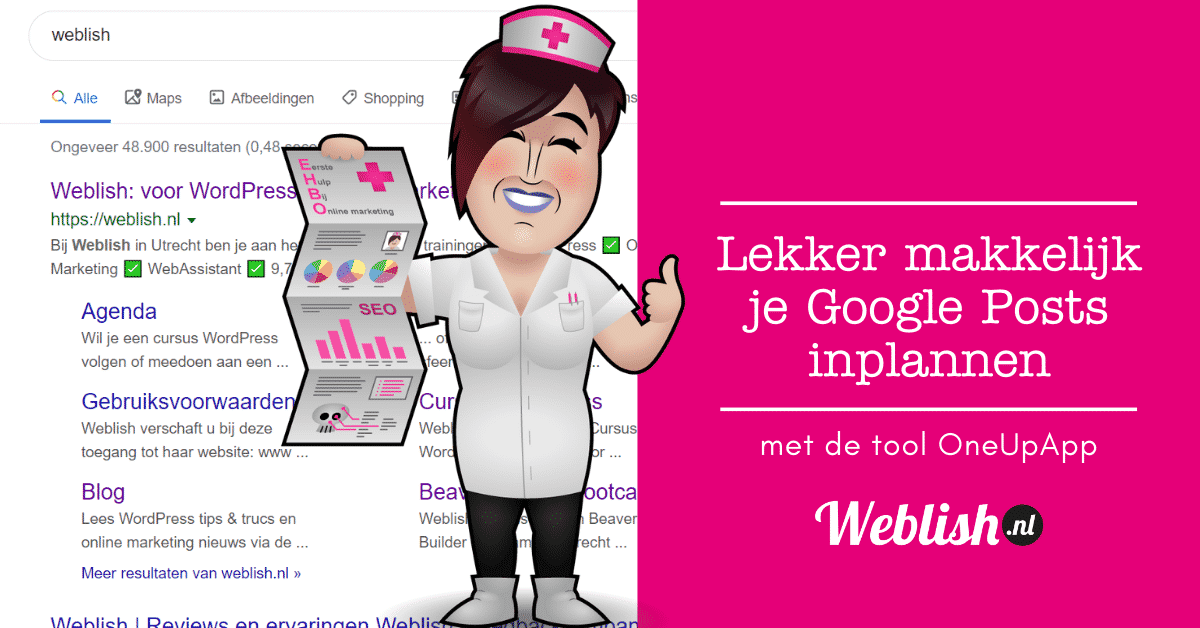 Google Posts inplannen