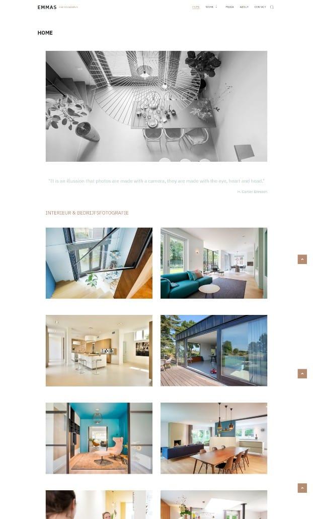Website Emmas Photography